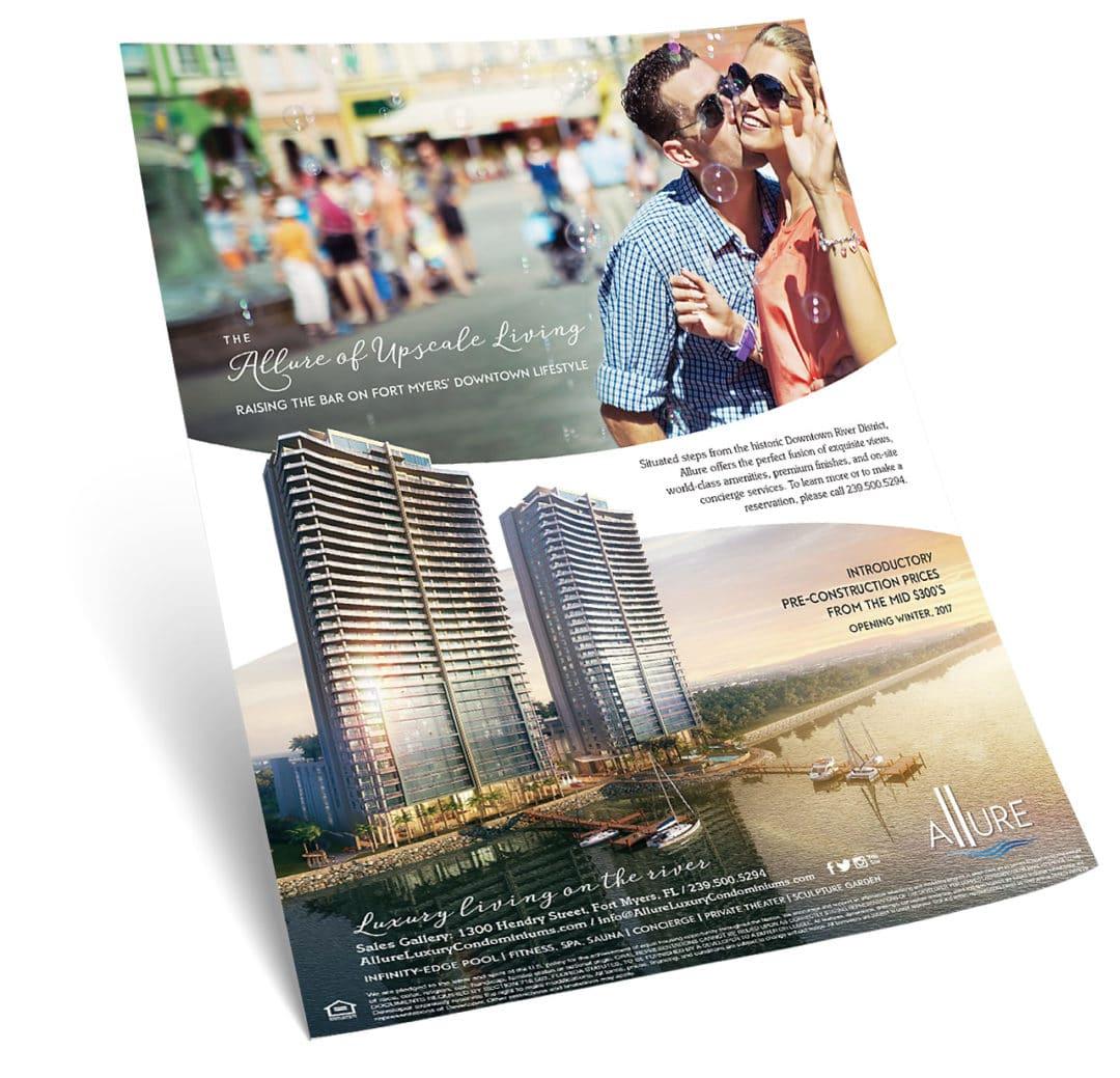 Allure Condominium Print Ad