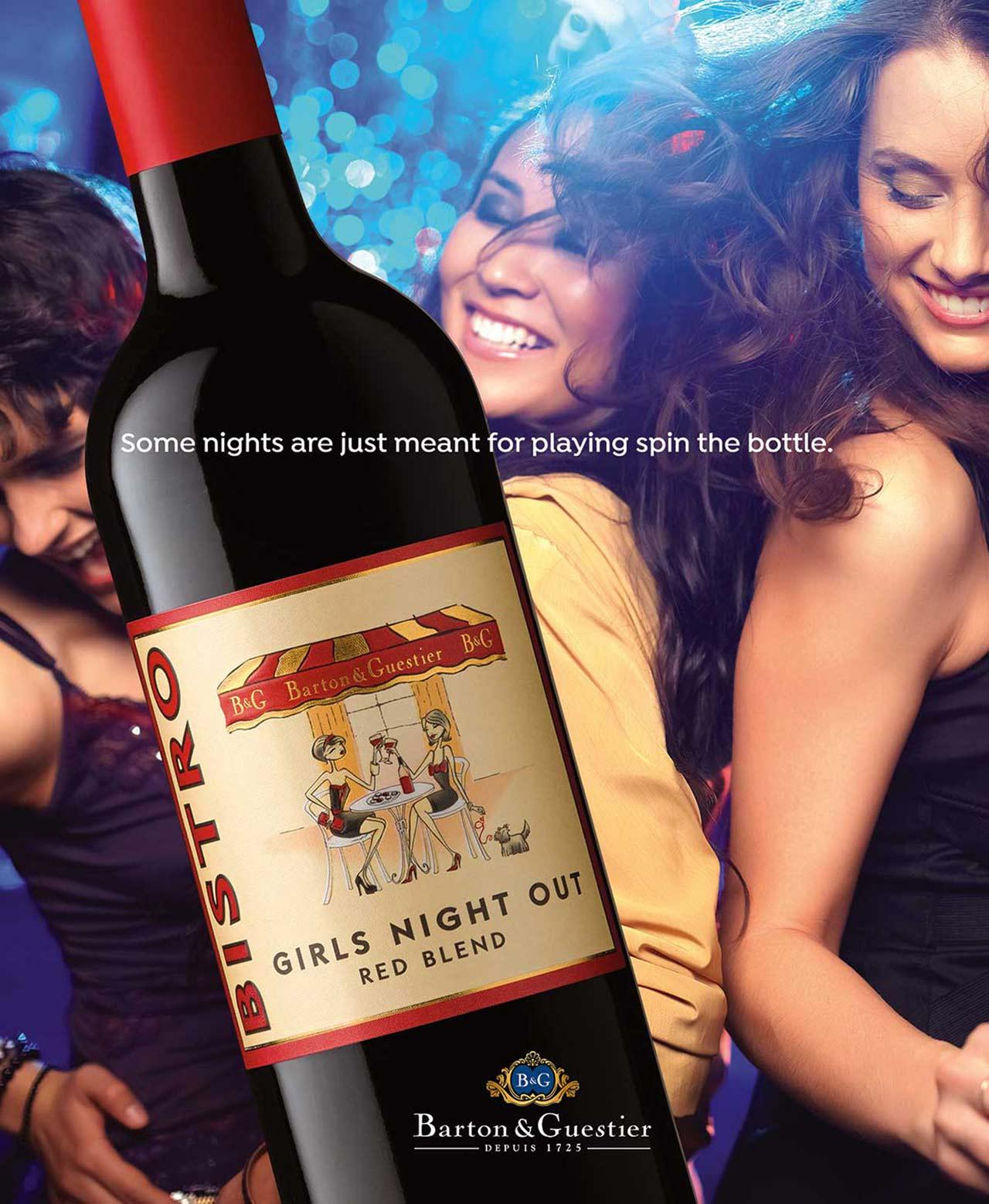 Barton & Guestier Print Ad Red Wine