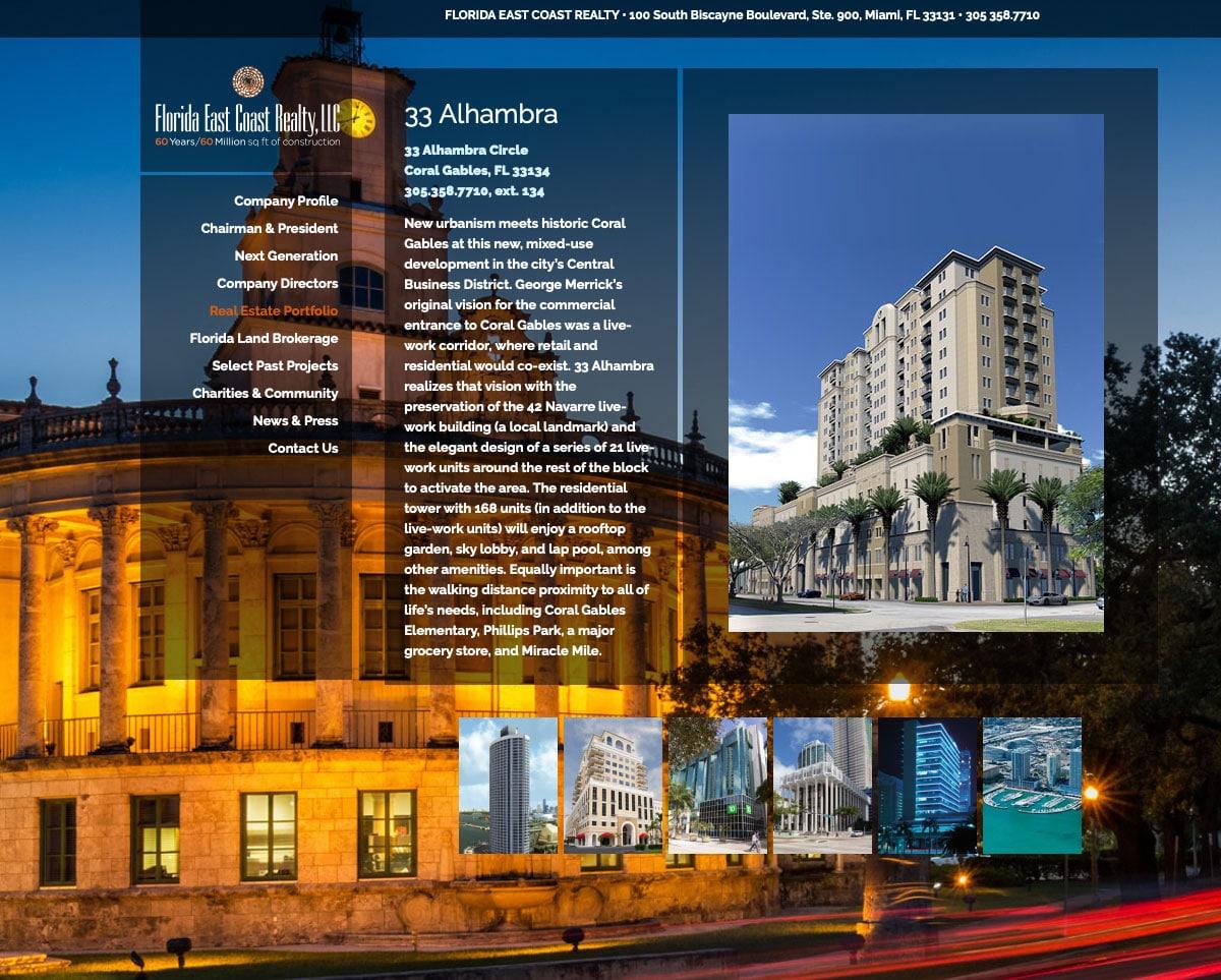 Florida East Coast Realty Corporate Website