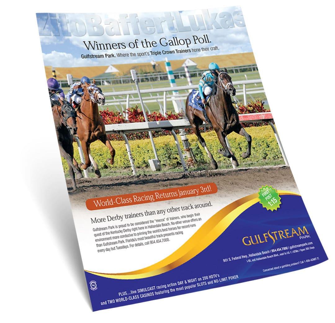 Gulfstream Park Racing & Casino Print Ad
