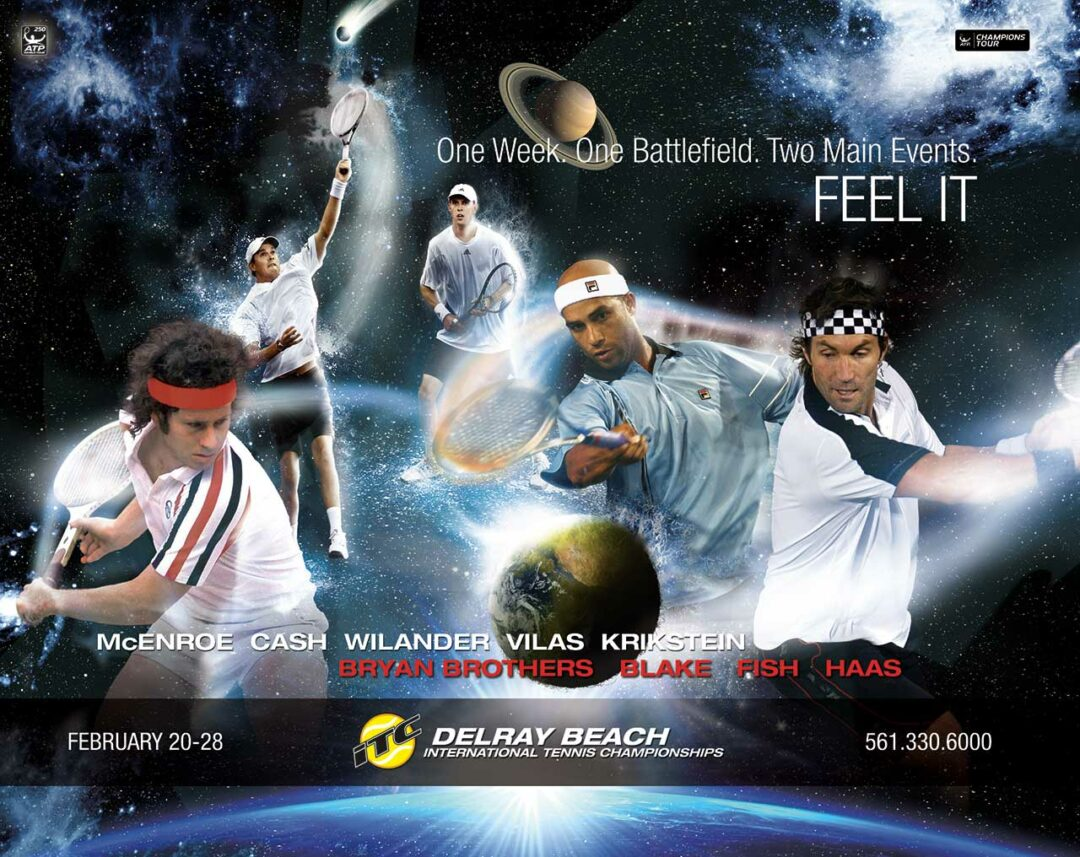 International Tennis Championships Print Ad