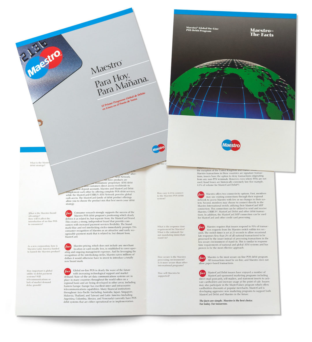 Maestro MasterCard Primary Sales Brochure