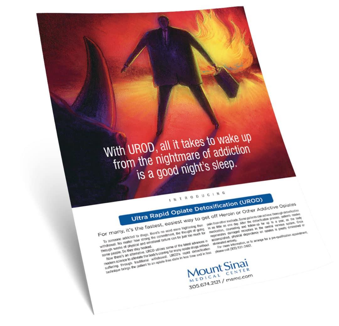 Mount Sinai Medical Center Print Ad