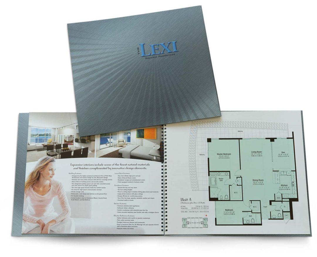 Real Estate Marketing Brochure Lexi Condominium