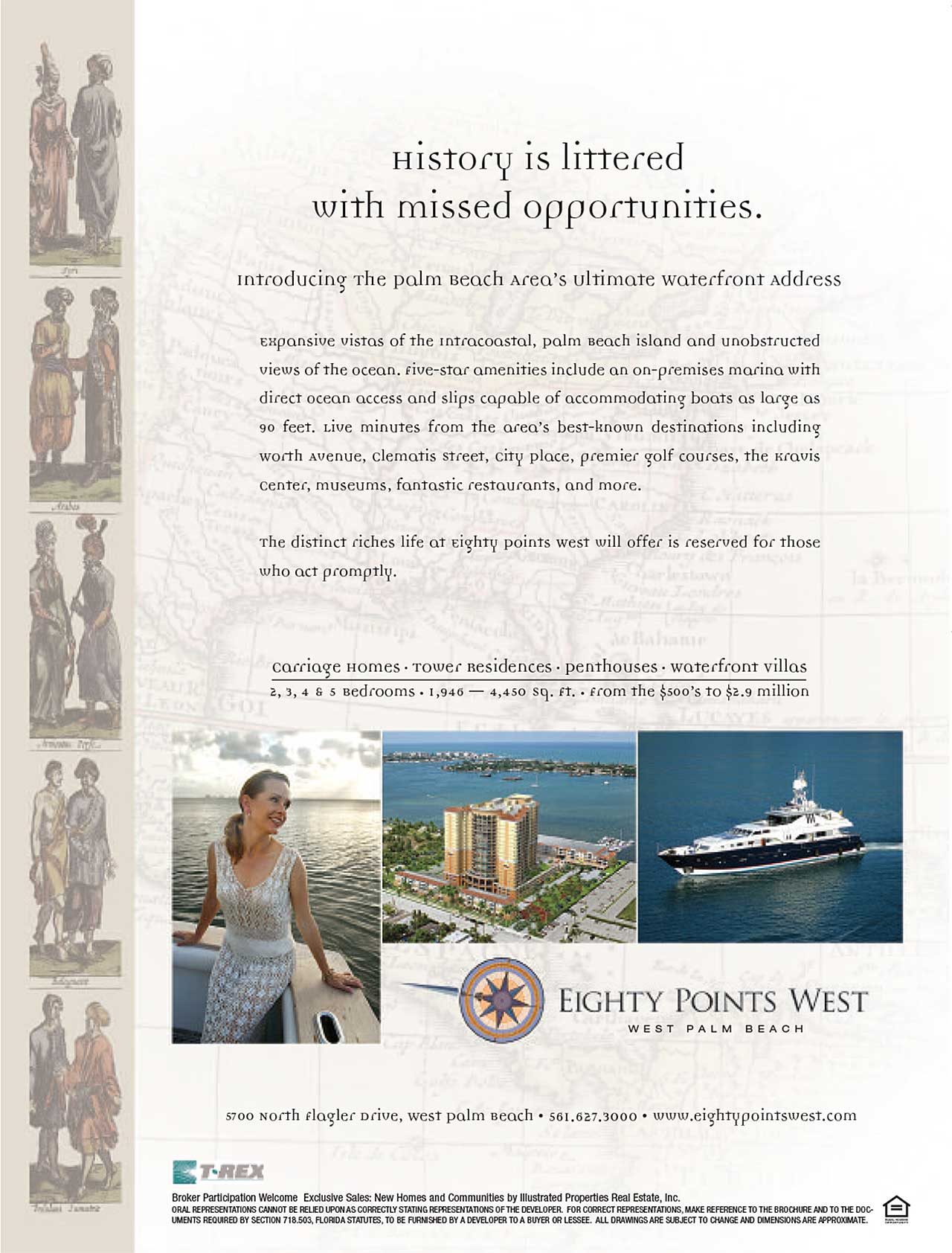 Eighty Points West New Construction Print Ad