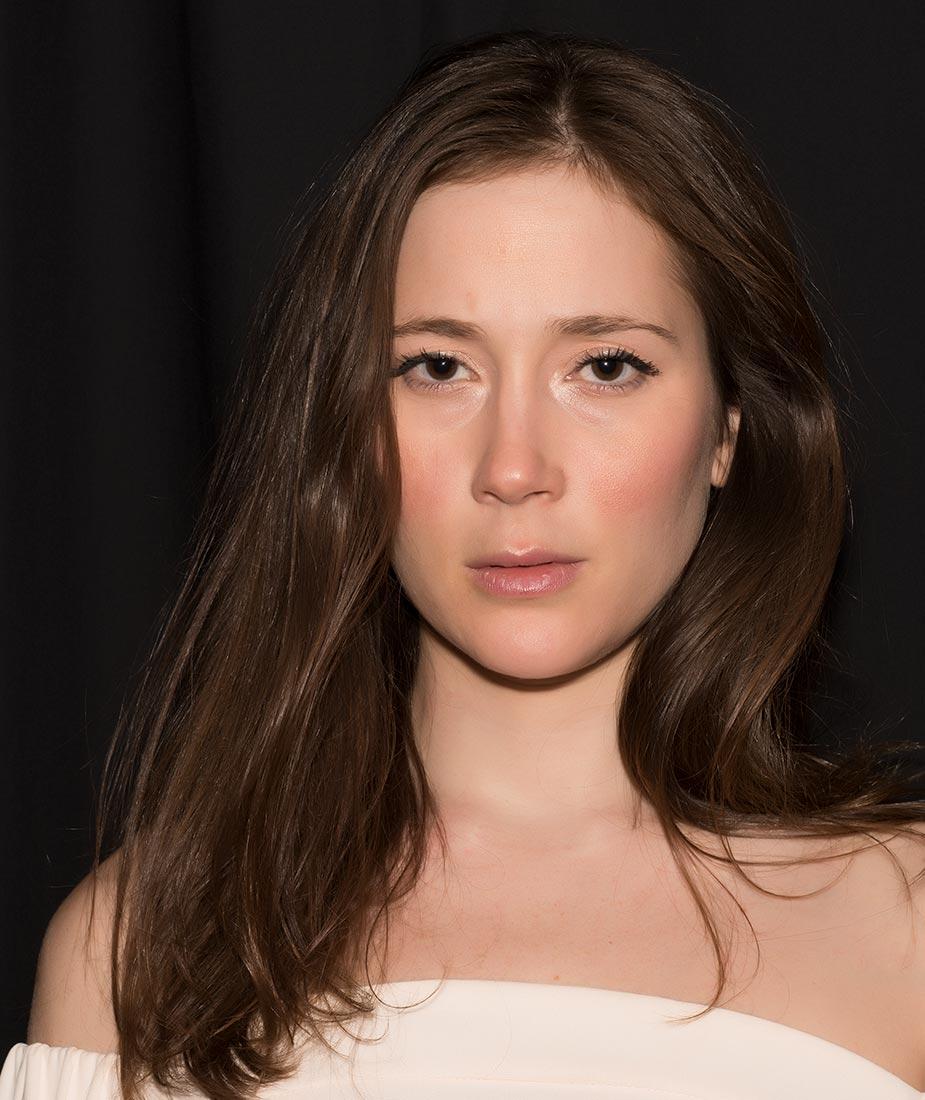 Zoom IQ Model Photography Headshot Rachel